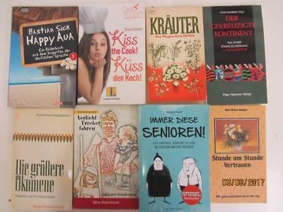 142 Bücher Taschenbücher verschiedene Verlage