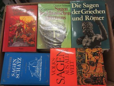 34 Bücher Sagen Heldensagen Göttersagen klassische Sagen