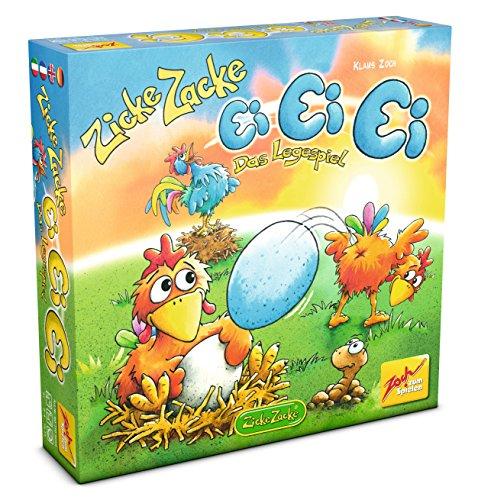 Zoch 601105056 - Zicke Zacke Ei Ei Ei, Kinderspiel