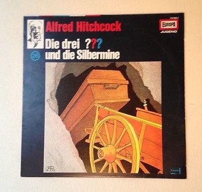 Die drei Fragezeichen ??? Folge 26 ... und die Silbermine Vinyl LP  gut