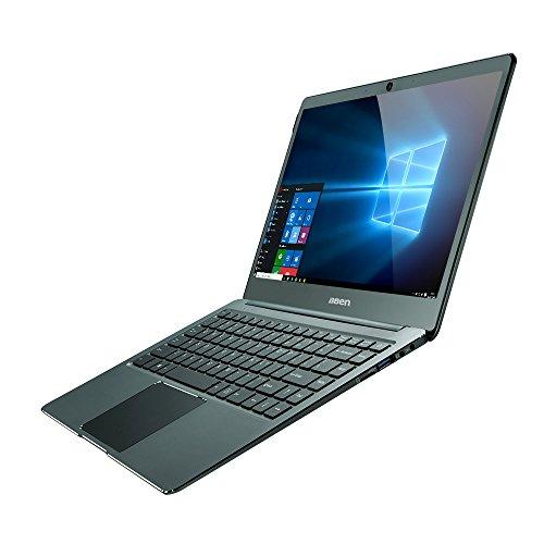 Bben N14W SUPER Ultrabook 14,1 Zoll Slim Notebook [Intel Apollo Lake N3450, 4GB Ram, 64 GB eMMC, Intel HD Graphics, Windows 10] Graugrün