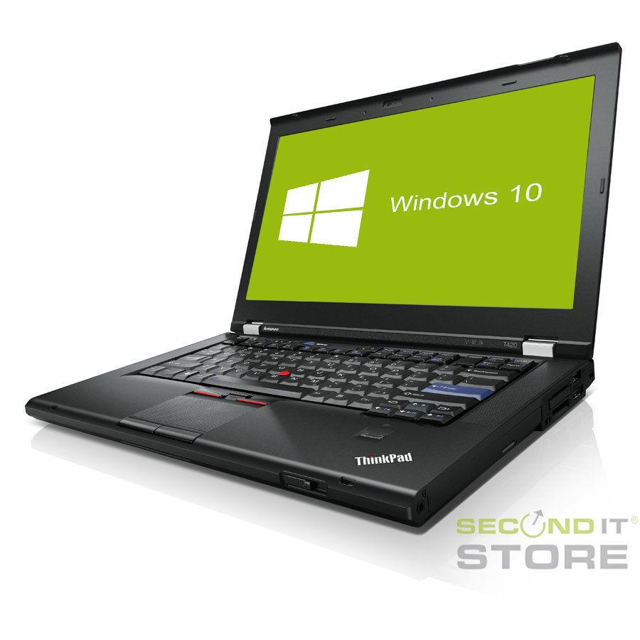 Lenovo ThinkPad T420 Notebook Intel Core i5 2x 2,5 GHz 8 GB RAM 320 GB HDD Win10