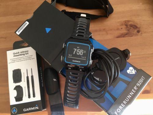 Garmin Forerunner 920XT incl. HRM Run und Schnellwechsel-Kit (Quick Release Kit)