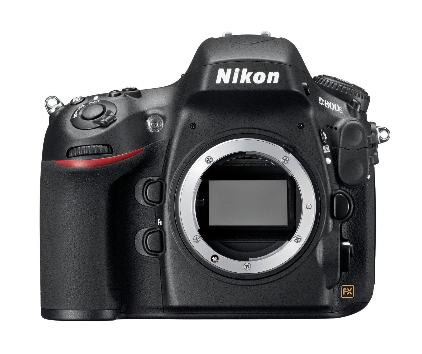 Spiegelreflexkamera Nikon D800 36.3 MP  - Schwarz (Nur Gehäuse), GEBRAUCHTWARE!