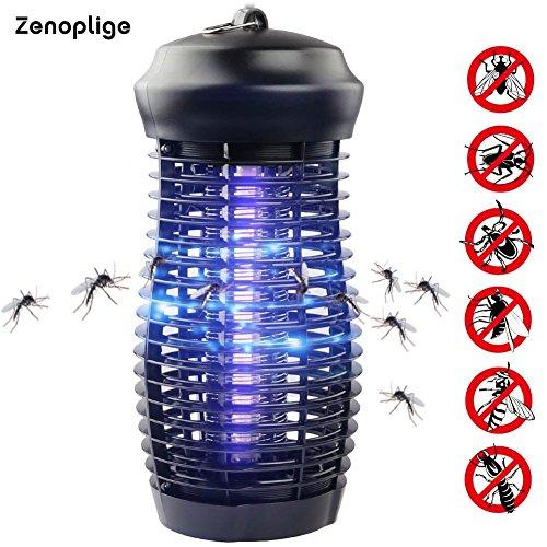 Zenoplige Electric Bug Light Zapper - Mosquito & Fly Killer - Indoor / Outdoor Fliegende Insektenbekämpfung - 100% Zufriedenheitsgarantie