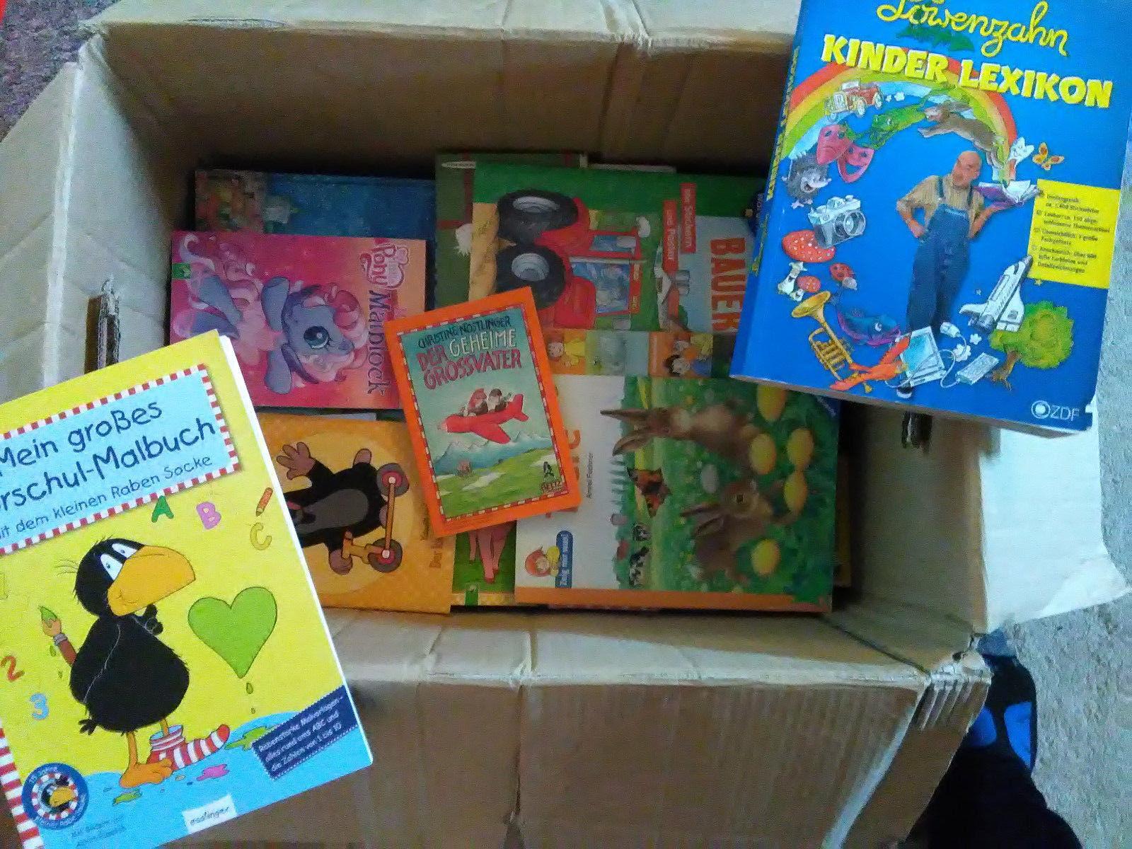 Tolles Paket mit 63 tollen Kinderbücher bunter Mix von 60er Jahre bis heute