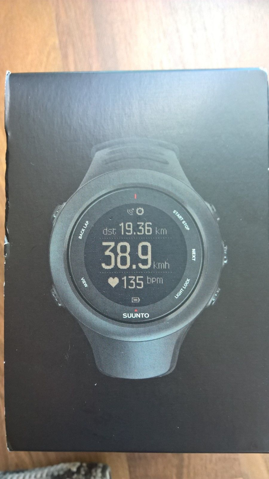 SUUNTO AMBIT3 Sport Black HRGPS-WATCH