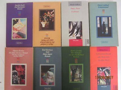 107 Bücher Taschenbücher rororo Verlag Serie neue Frau