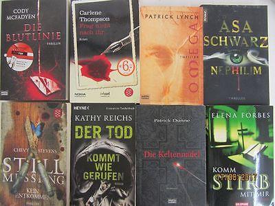 55 Bücher Romane Krimi Thriller Psychothriller  Top Titel Bestseller