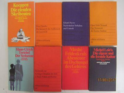108 Bücher Taschenbücher suhrkamp Verlag