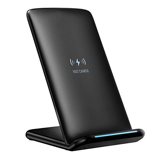 Wireless Fast Charger, PrimAcc Wireless Ladegerät Qi Induktive Ladestation QI Ladegerät für alle Qi-fähige Geräte, mit Schnellfunktion für Samsung Galaxy S8/S8 Plus/ S7/ S7 Edge/ S6 Edge Plus/ Note 5