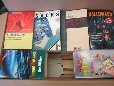140 Bücher Taschenbücher verschiedene Verlage