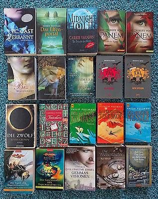 Bücherpaket 36 Fantasy-Bücher Isau Cronin Cast Collins Kuhn Funke Paolini Stroud