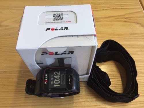 Polar M400 GPS Sportuhr mit Bluetooth Brustgurt und Garantie