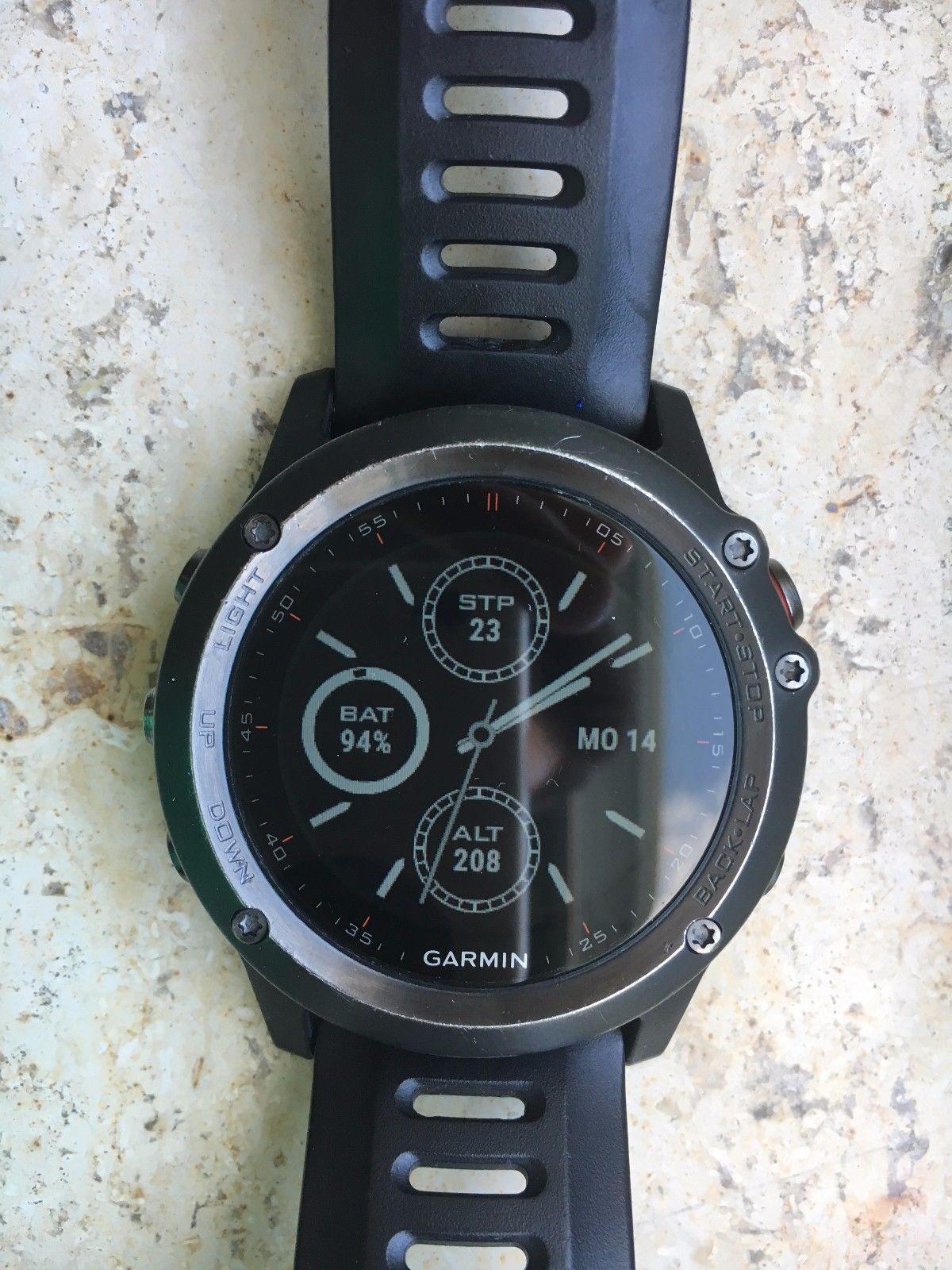 Garmin Fenix 3 GPS Uhr, Laufuhr, Outdoor, Multisportuhr
