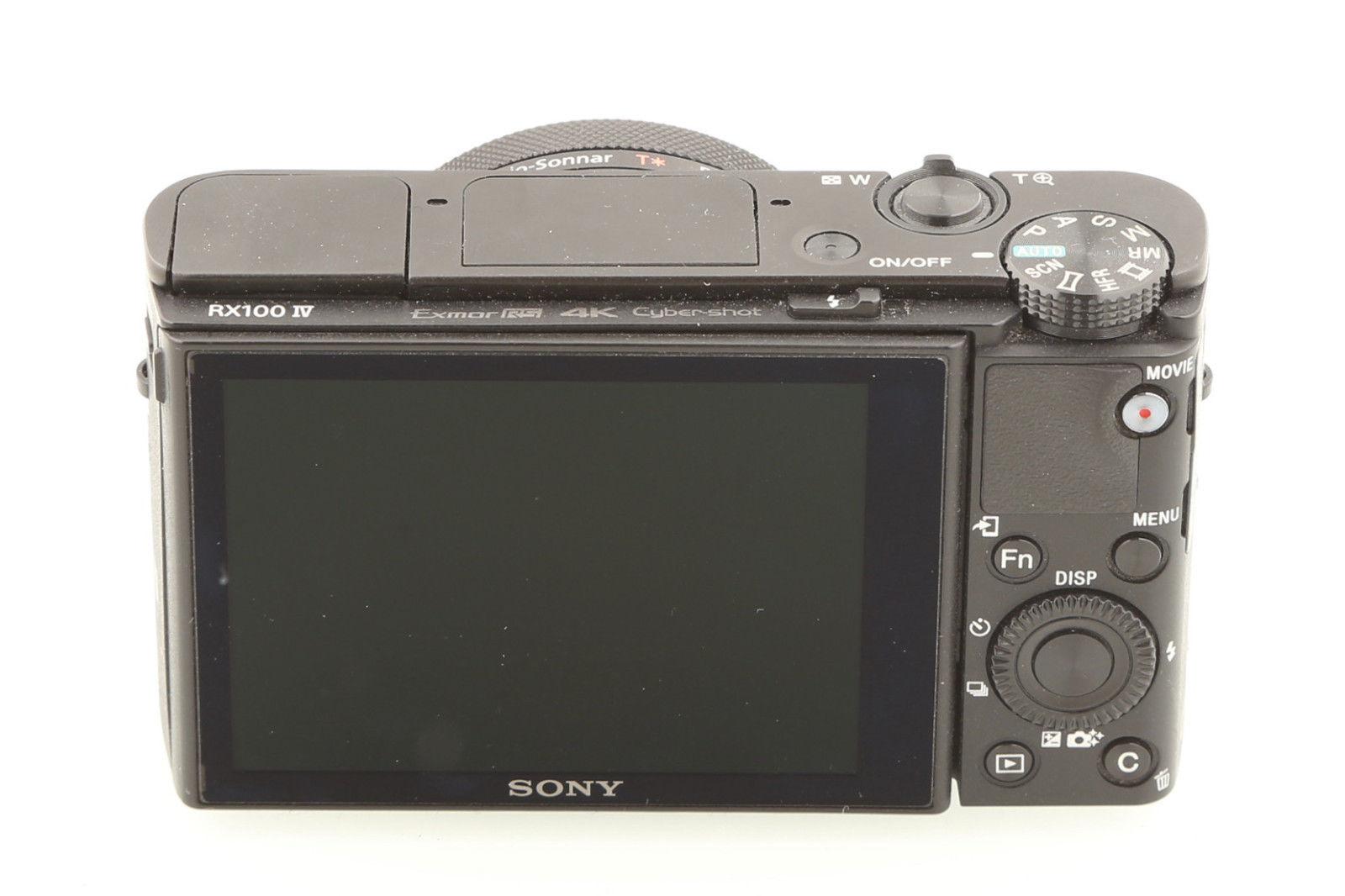 SONY DSC-RX100M4 IV 20.1 MP Digitalkamera Schwarz