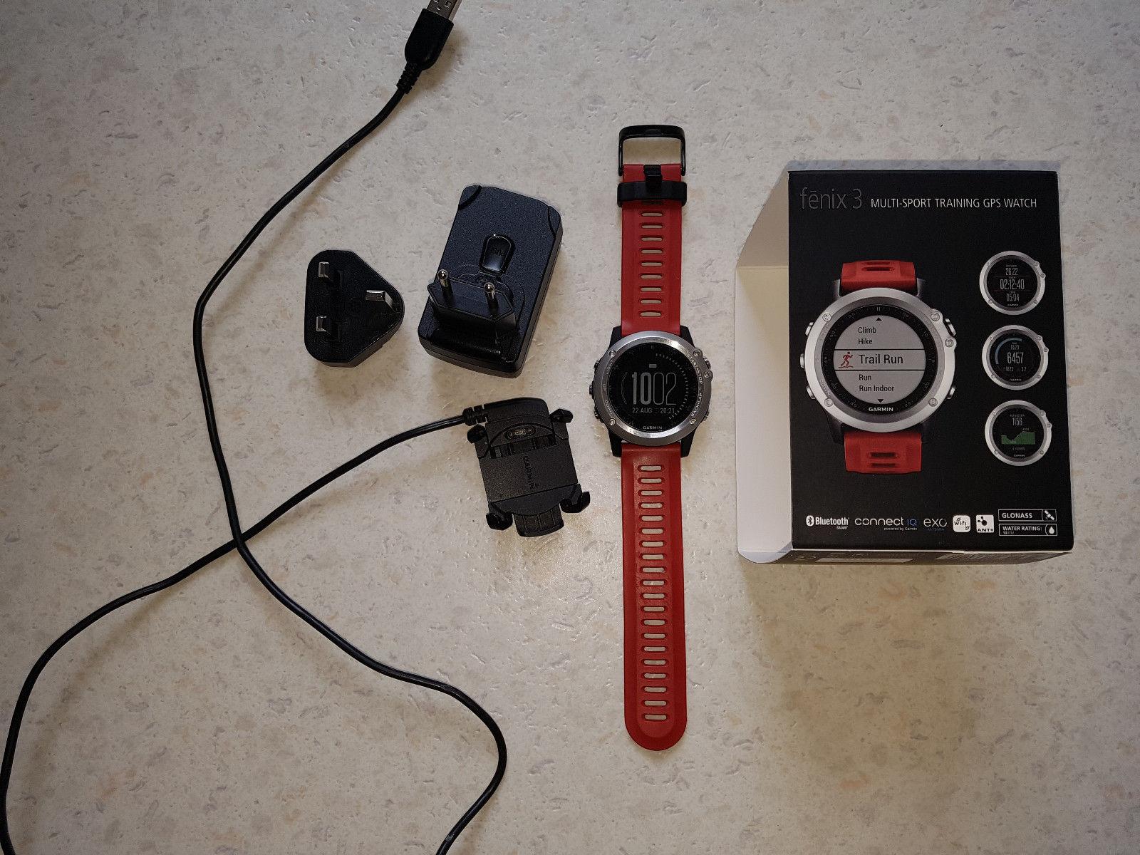 Garmin Fenix 3 GPS Multisportuhr (aus dem Jahr 2015)