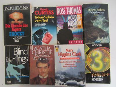 74 Bücher Romane Krimi Thriller Detektivromane Spionageromane