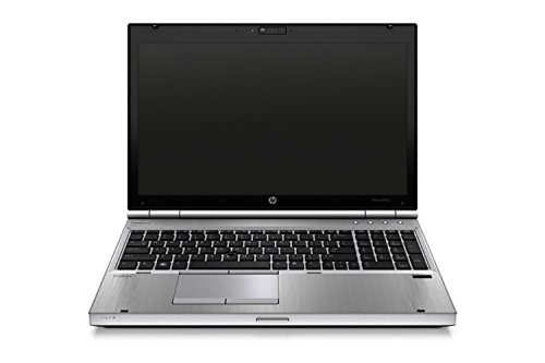 HP Elitebook 8570p 39,624 cm (15,6 Zoll HD) Notebook (Intel Core i5, 6GB, 320GB, Intel HD 4000, Bluetooth, Windows 10 Pro) schwarz (Zertifiziert und Generalüberholt)