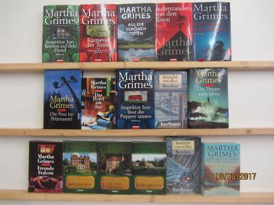 Martha Grimes 16 Bücher Romane Krimi Thriller Kriminalromane Top Titel