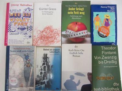 115 Bücher Taschenbücher dtv Verlag