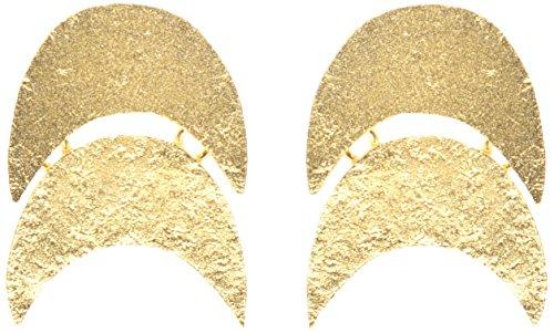 Wouters & Hendrix Damen-Ohrringe Vergoldet
