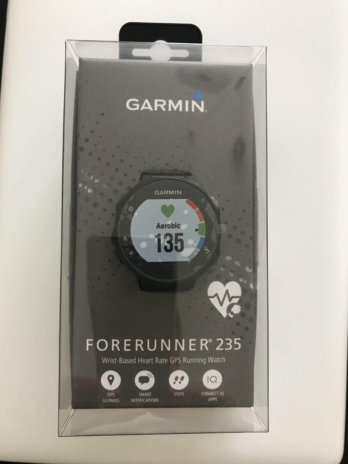 Garmin Forerunner 235 GPS Lauf Uhr neuwertig OVP, Herstellergarantie