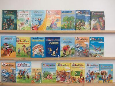 22 Bücher Kinderbücher Leselöwen Lesepiraten Schmökerbären erstes Lesen