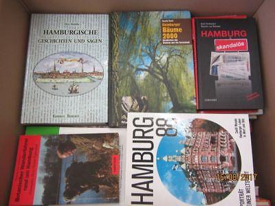 56 Bücher Bildbände Hamburg Hamburgensien Reiseführer hamburger Geschichte