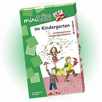 WESTERMANN mini LÜK Set - Im Kindergarten (4520) - NEU