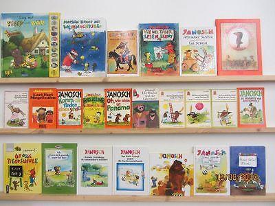 Janosch 31 Bücher Janosch Kinderbücher Tiger und Bär Mäusesheriff  u.a.