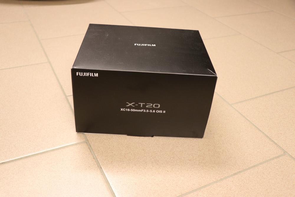Fujifilm X-T20 inkl. 16-50mm Objektiv II, silber