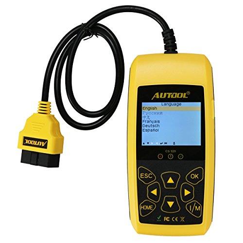 Auto Motor Fehler code Leser Autool CS520 Auto Code Scanner, schaltet Motor Licht (MIL) und DTC / TIPS Warnleuchten Diagnose Scan Tool