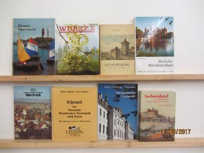 57 Bücher Bildbände Deutschland deutsche Bundesländer deutsche Städte