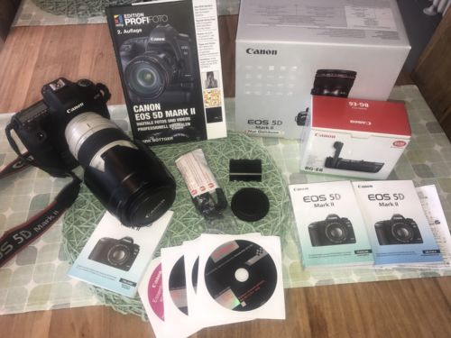 CANON EOS 5D Mark II Vollformatkamera body Spiegelreflex Kamera TOP Zustand