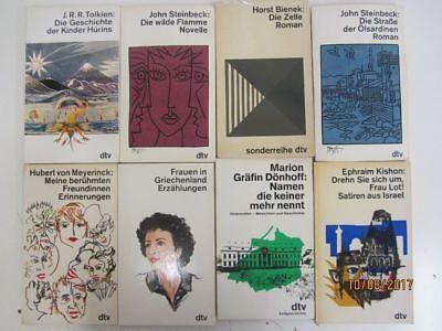118 Bücher Taschenbücher dtv Verlag weiße dtv Taschenbücher