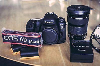 Canon EOS 6D Mark II 26.2MP DSLR Kamera + EF 24-105mm f/3.5-5.6 IS STM