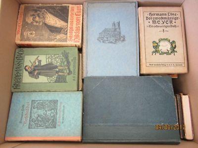 65 Bücher antiquarische Bücher