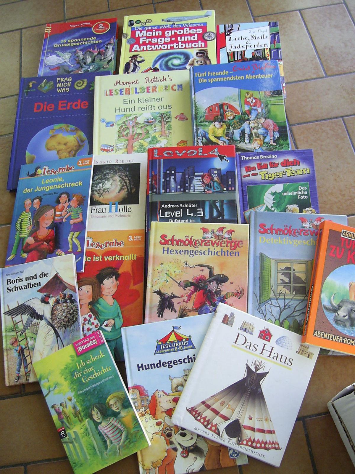 über 30 Kinderbücher und Jugendbücher- Buchpaket