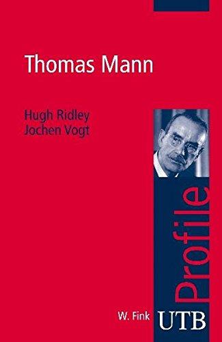 Thomas Mann (utb Profile, Band 3283)