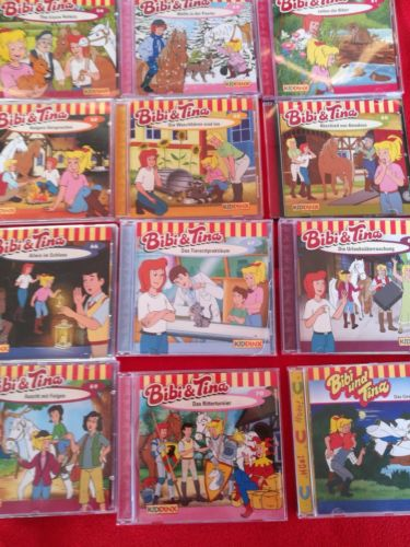 Bibi und Tina CD Sammlung