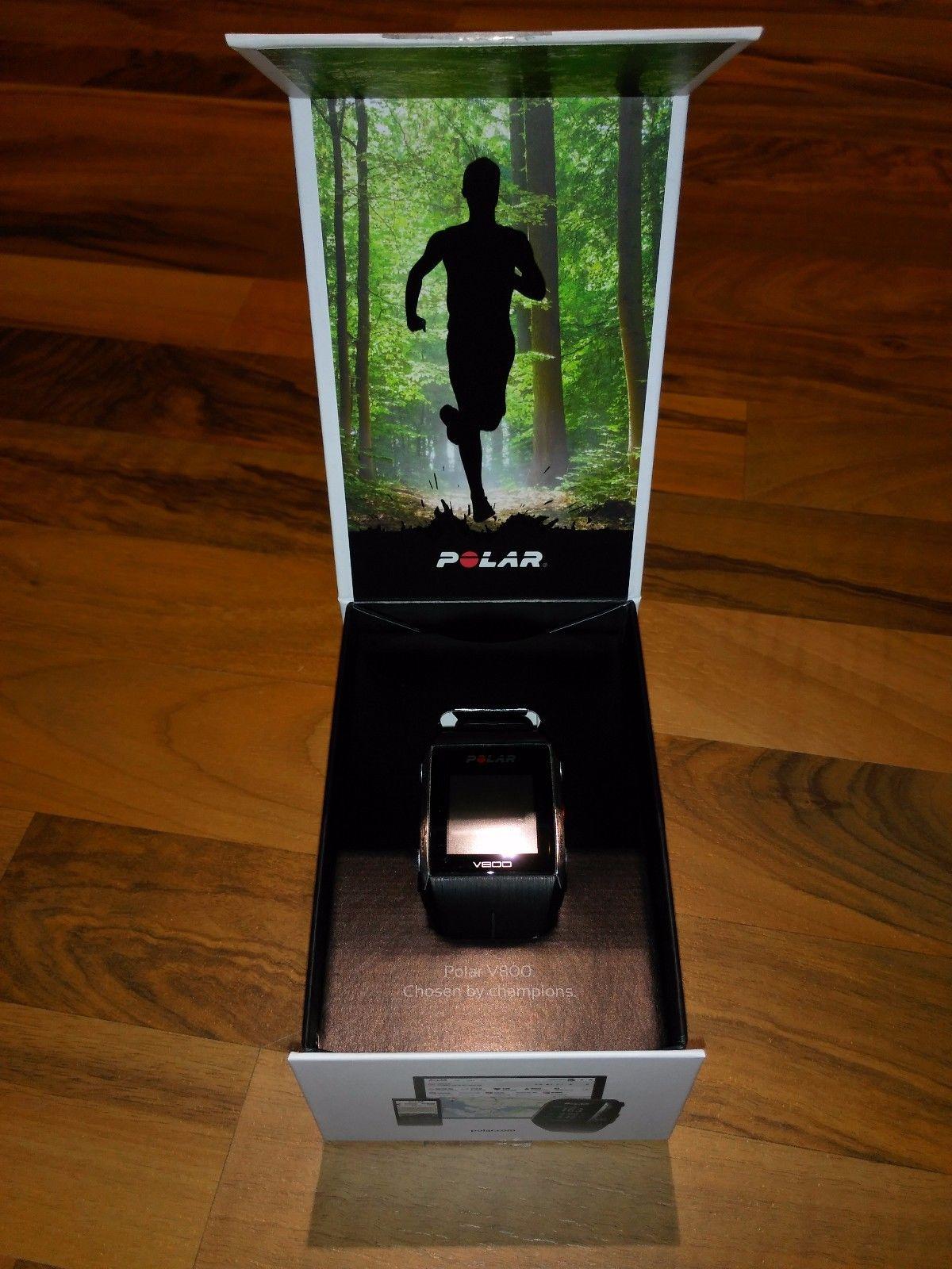 Polar V800, Fitness Uhr, schwarz, OVP mit Rechnung, ohne Brustgurt