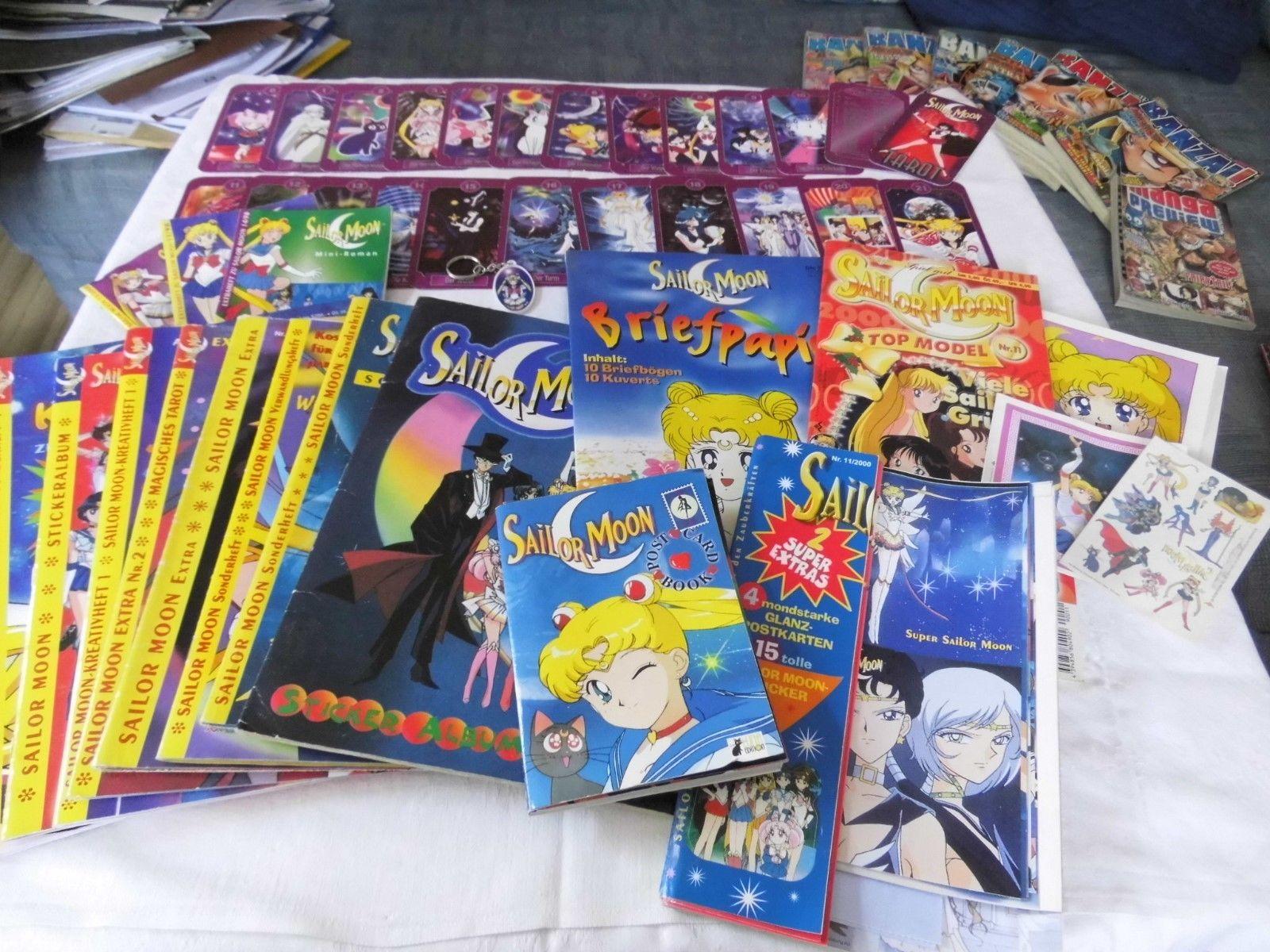 Sailormoon Sammlung - einfach reinschauen