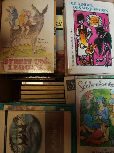 Bücherkiste / Sammlung Kinderbücher / Jugendbücher aus der DDR / Ostalgie