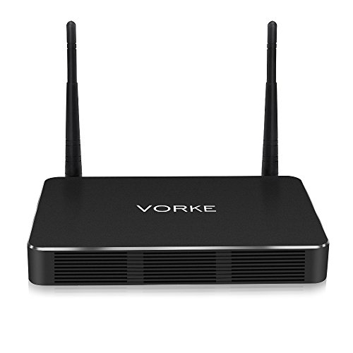 Android TV Box , VORKE-Z3 Mini Pc, (RK3399 4GB/32GB 4K 2x2 Mimo AC WIFI Gigabit LAN SATA3.0 HDMI Type-C Dual Output Bluetooth 4.1) Mini Computer