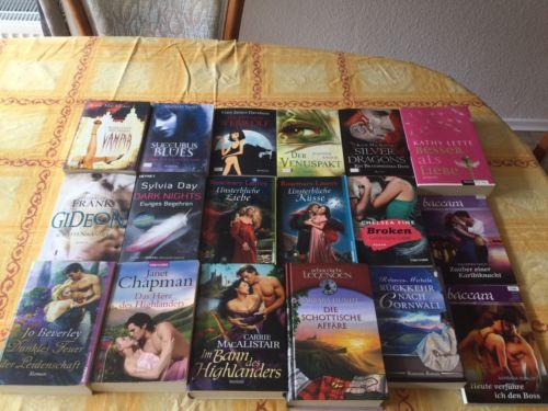 Bücherpaket 18 Stück von Fantasy- bis Highlander