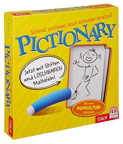 Mattel Spiele DRY37 - Geschicklichkeitsspiele, Pictionary