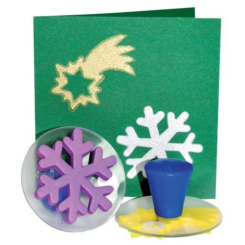 Eduplay 220076 - Stempelset Weihnachten, 6-er Set