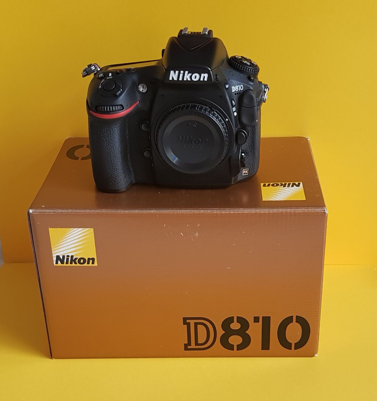 Camera Nikon D 810 Body 36.3 MP DSLR (Kauf:4/2016)