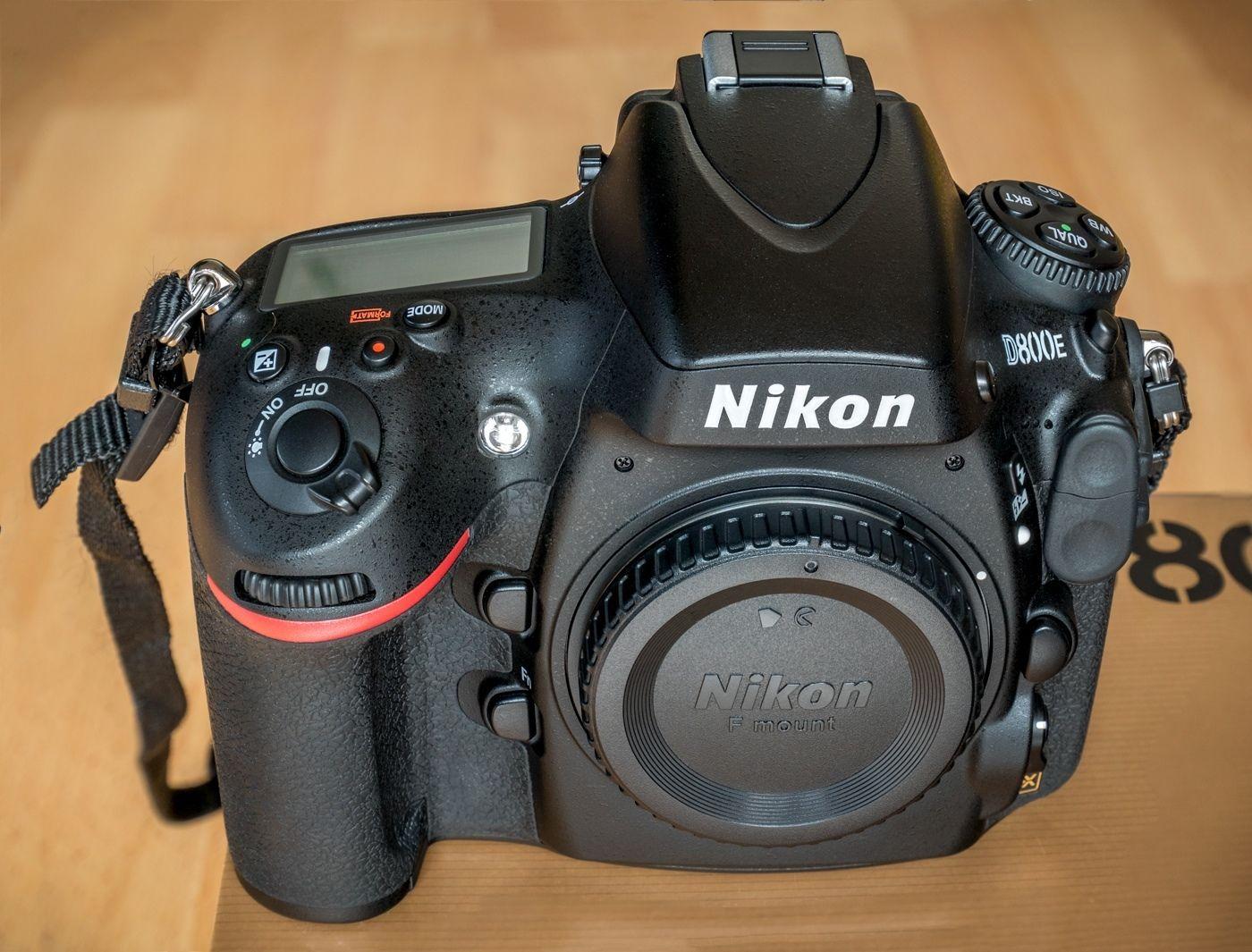 Nikon D800E 36.3 MP SLR-Digitalkamera Gehäuse | Nur 11.406 Auslösungen | OVP +++